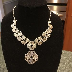 Stella and Dot Silver-tone Necklace